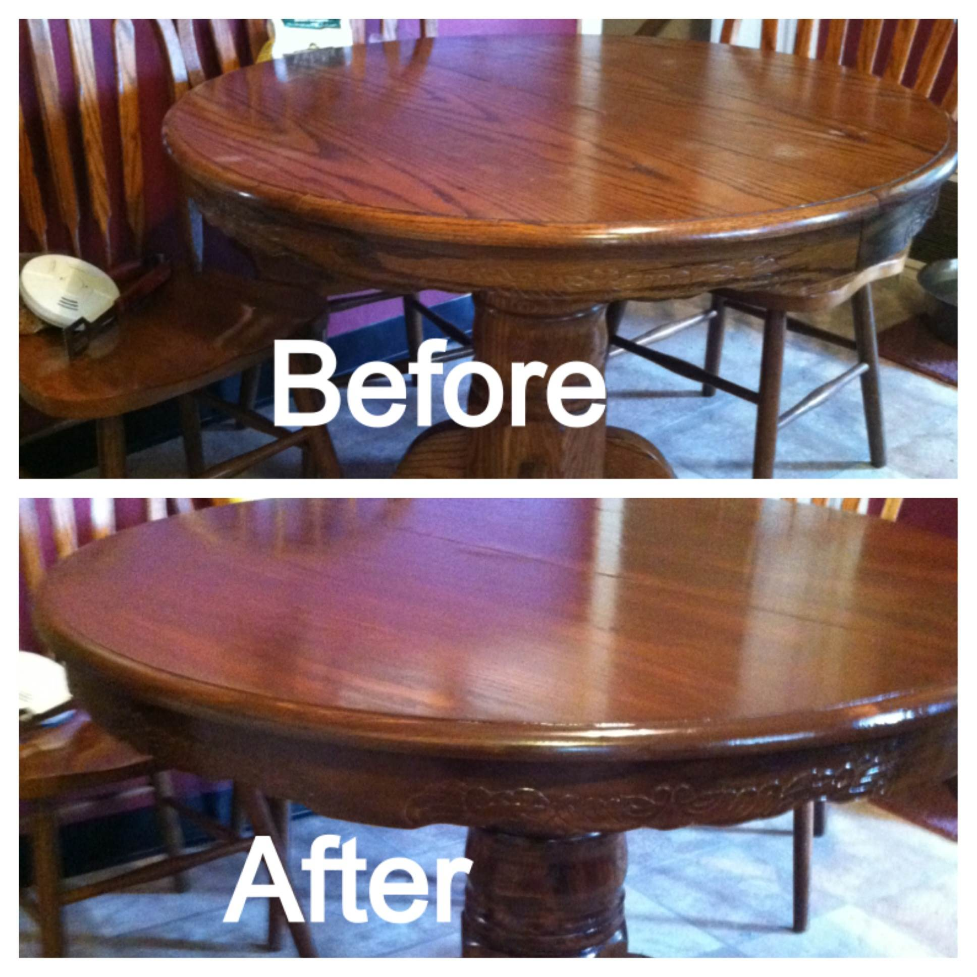 Restaining Kitchen Table Diy Restaining Kitchen Table And Chairs The Real Sassy